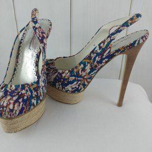 🌴3/$20 Lulu Townsend Espadrille Platform Sandals